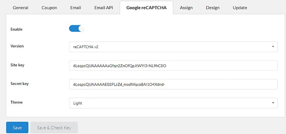 Google reCAPCHA